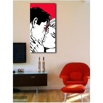 Dylan Dog red kiss