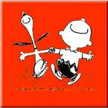 Snoppy Happy Red