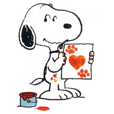 Snoopy artista