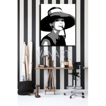 Quadro Audrey Hepburn 4