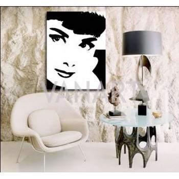 Quadro Audrey Hepburn 3