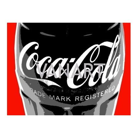 Quadro Coca Cola RED
