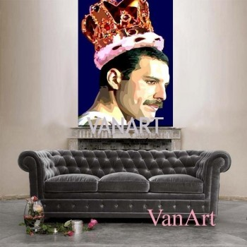 Quadro Freddie Mercury - The King -