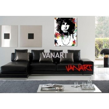 Quadro Jim Morrison colorpop