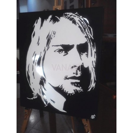 Quadro Kurt Cobain