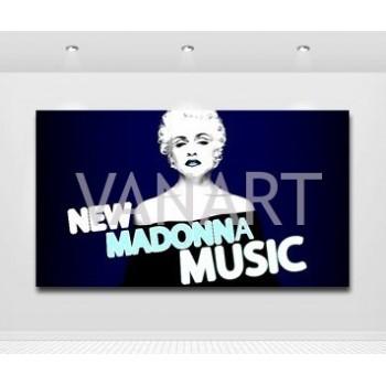 Quadro Madonna Louise Veronica Ciccone 7 Music