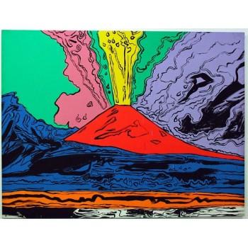 Quadro Vesuvio Warhol