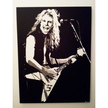 Qaudro James Hetfield - Metallica