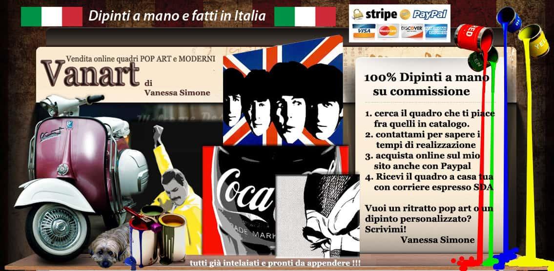 Quadri moderni Dipinti a mano 100% in Italia . Prodotto artigianale . Pagamento con paypal e carte di credito.