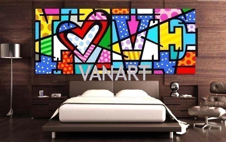 Quadri moderni collezione 1 vanart for Quadri moderni colorati