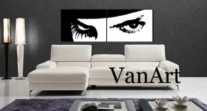 Arancia Meccanica eyes muro