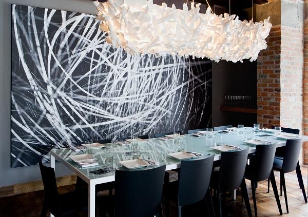 Arredamento per un ristorante a milano for Arredamento sala ristorante