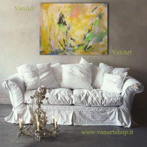 Astratto pastello muro 80x60