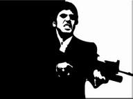 "Quadro ""Scarface"" Al Pacino"