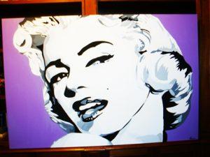 Quadro moderno Marylin Monroe 100x150 cm